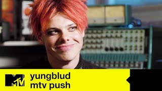 YUNGBLUD Tells Us About His Childhood \u0026 Why He Writes Songs | MTV Push