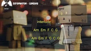 GuyonWaton - Lungaku, Lirik dan Chord gitar