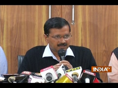 Delhi CM Arvind Kejriwal Questions Credibility of EVMs Used in Punjab Polls