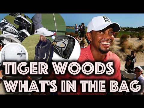 Tiger Woods - What's In The Bag 2016