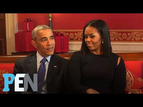 President Obama's Powerful Message About The Election & Hope For Future | PEN | Entertainment Weekly