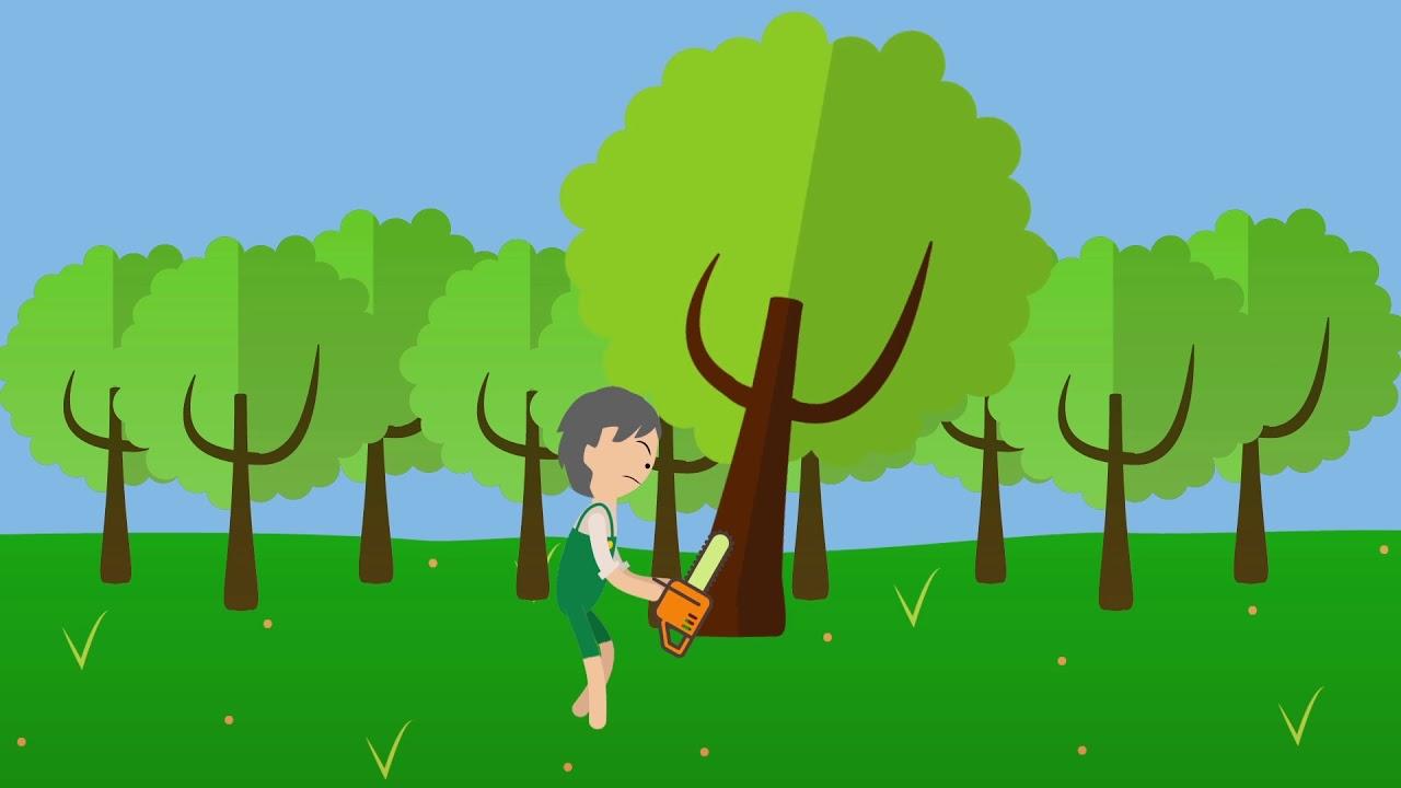 Iklan Layanan Masyarakat Hari Sejuta Pohon Sedunia Motion