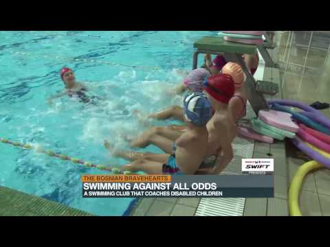 Bosnia's disabled children swim against indifference