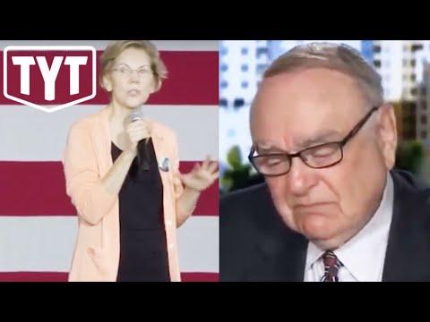 Warren Triggers Crying Billionaire