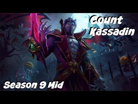 League of Legends: Count Kassadin Mid Gameplay