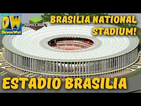 STADIUM in Minecraft - National Stadium of Brasilia - Mane Garrincha (OFFICIAL)