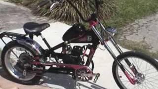 Motorized Schwinn OCC Stingray Chopper Bicycle