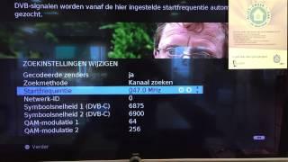 Ziggo zenders instellen op Loewe LCD