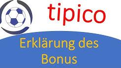 Tipico: Bonus und Wetten Erklärung