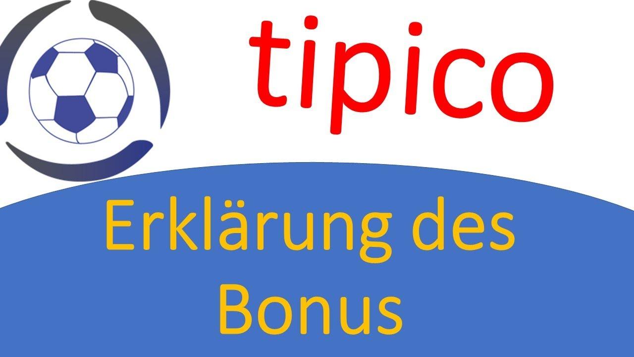 Tipico Bonus Erklärung