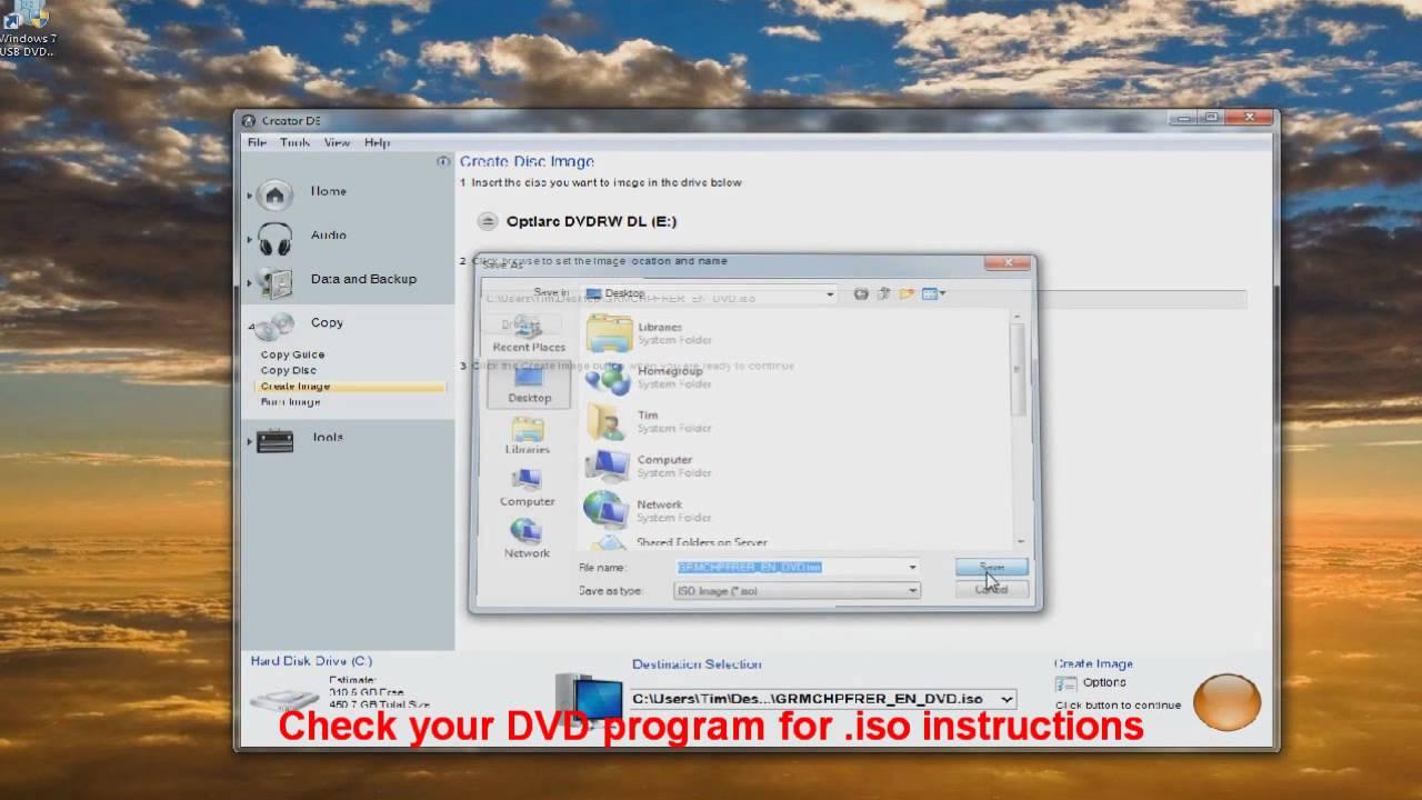 windows xp iso usb dvd download tool