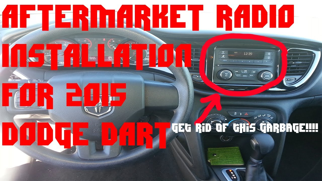 2016 dodge dart sxt wiring diagram 12v trolling motor how to install aftermarket radio into 2015 with steering wheel controls