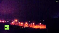 Live Cam Donetsk BIG explosion 11.19.2014
