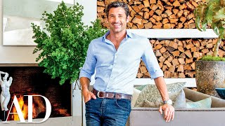 Gambar cover Patrick Dempsey Gives a House Tour of His Malibu Home Designed by Frank Gehry | Architectural Digest