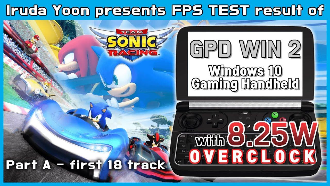 39 22 MB] Team Sonic Racing last 18 track benchmark / Team