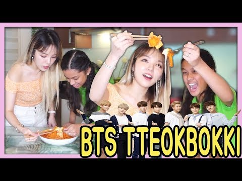 BTS TTEOKBOKKI RECIPE with ARMY❤️