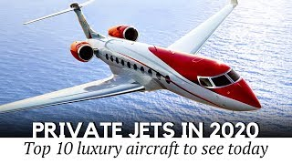 10 Newest Private Jets with the Most Exclusive Interiors in Corporate Aviation