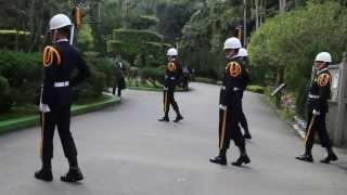 Taiwan Gendarmerie in Chiang Kai-shek mausoleum Part.2