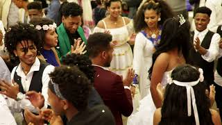 Eritrean wedding in swiss Meseret & Abrehet ,hot guayla by wedi chaay
