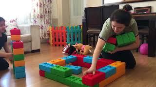 Elif Story Мы Сделали Красочную Игрушечную Коробку - Elif Öykü Сделанная Игрушка Box Fun Kid Видео