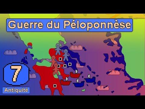 Antiquité #7 - La Guerre du Péloponnèse : Sparte contre Athènes