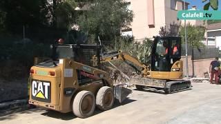 Pla de renovació de voreres de Segur de Calafell