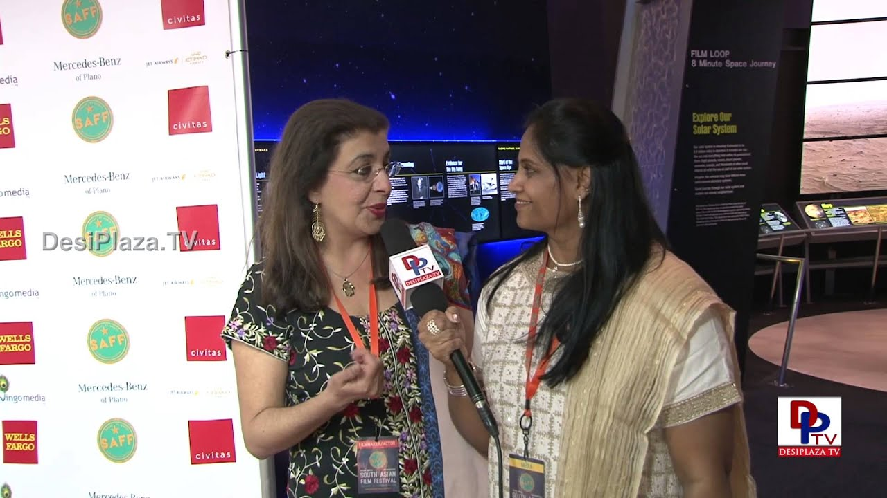 Artist Siona Benjamin speaking to Desiplaza TV South Asian Film Festival