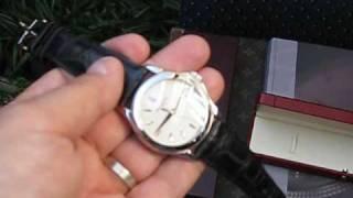 Patek Philippe Calatrava 5107 White Gold Mens Watch Automatic Date Display Back