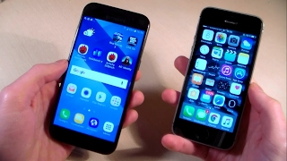 samsung galaxy a3 2017 vs iphone 5s