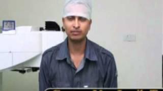 LASIK Eye Surgery Visx CustomVue LASIK TESTIMONIAL SUVI EYE INSTITUTE KOTA INDIA.mpg