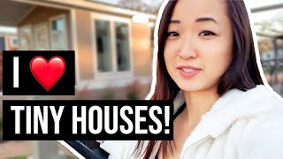 Visiting The First Tiny Home Community In Austin, Texas!