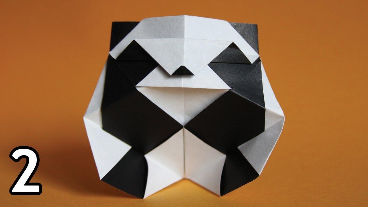 Origami Panda Roman Diaz