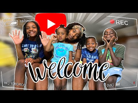 Welcome To My CHANNEL Get To Know Us..Family #SANNTHEKIDS #FAMILYCHANNEL #KIDS
