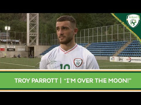 """INTERVIEW   Carlsberg Man of the Match Troy Parrott - """"I'm over the moon!"""""""