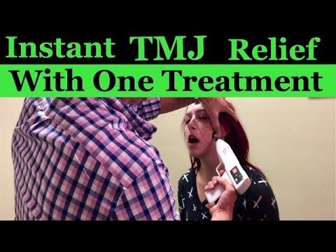 Awesome TMJ Adjustment with immediate relief!
