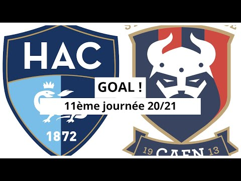 Le Havre Caen Goals And Highlights