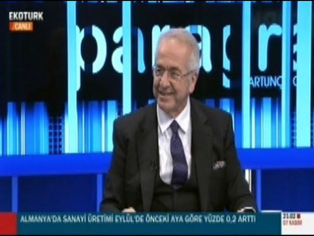 TÜSİAD Yönetim Kurulu Başkanı Erol Bilecik Ekotürk TV'de Paragraf Programına Konuk Oldu