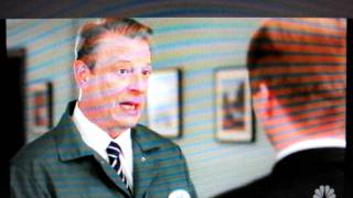 Superhero Al Gore on 30 Rock for Earth Day