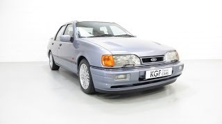 An Immaculate Ford Sierra Sapphire RS Cosworth Meticulously Detailed to Show Standard. SOLD!