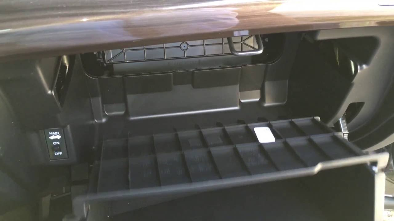 2017 Honda Accord Cabin Air Filter Replacement Diy