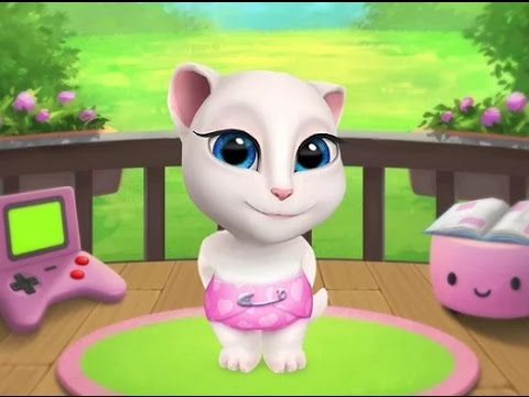 My Talking Angela - Android Gameplay HD