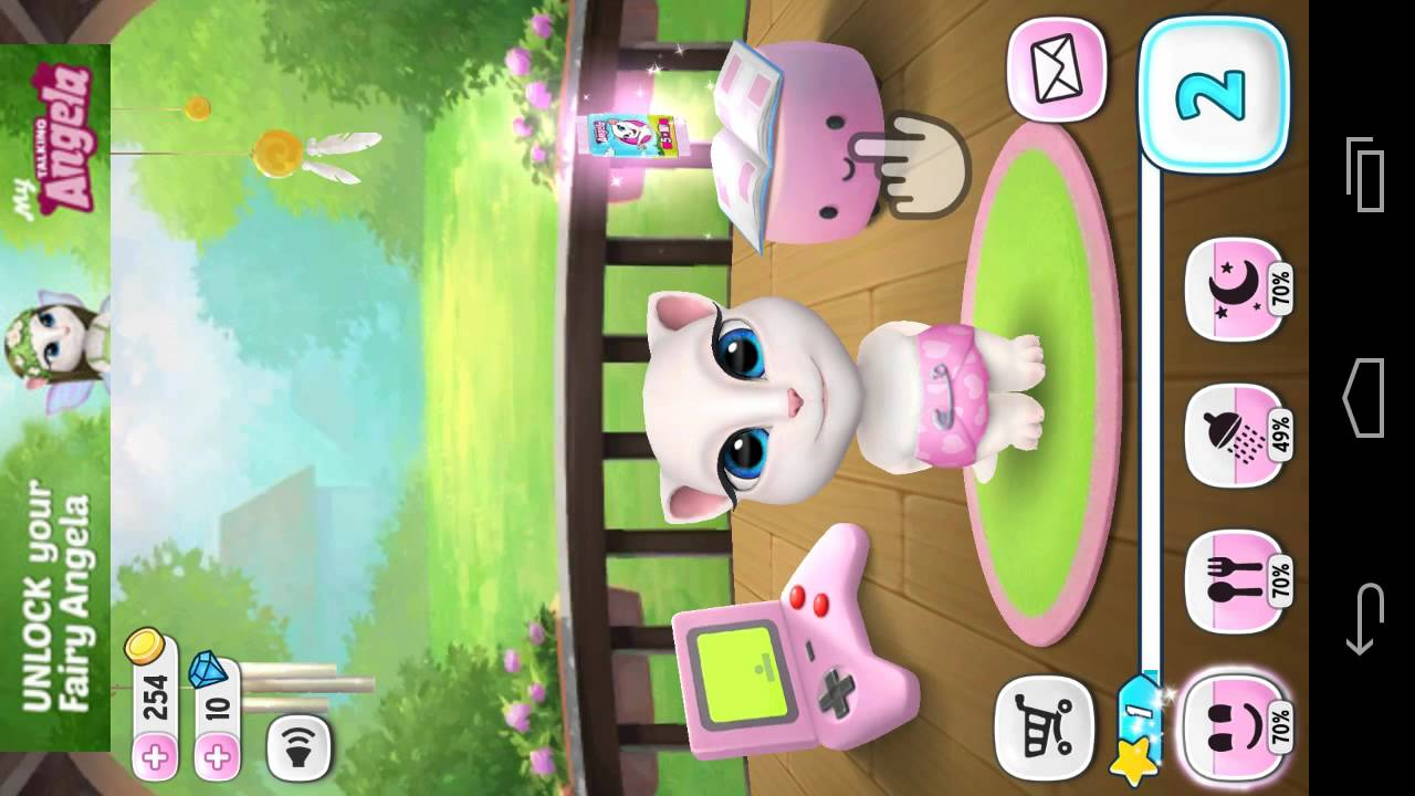 My Talking Angela – Android Gameplay HD