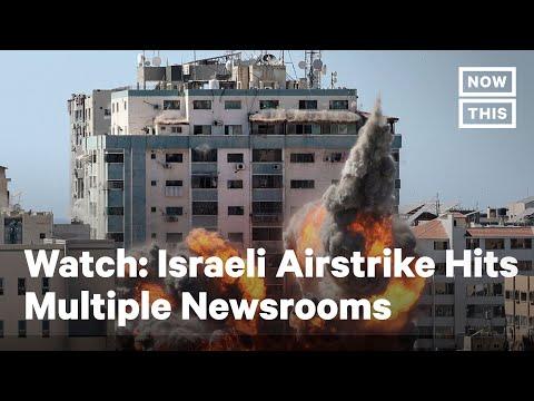 Journalists Evacuate Offices in Gaza Before Israeli Airstrike