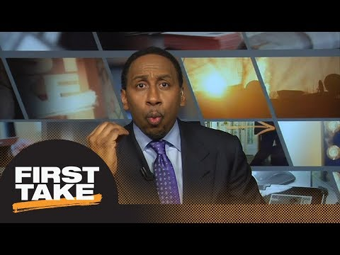 Stephen A. Smith goes off: LeBron James 'will never be Michael Jordan'  First Take  ESPN