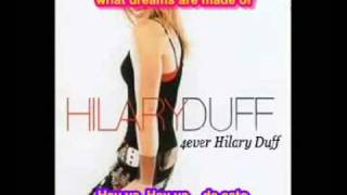 SUBTITULADA HEY NOW Hilary Duff subtitulos español ingles lyrics legendada letras de canciones SUB
