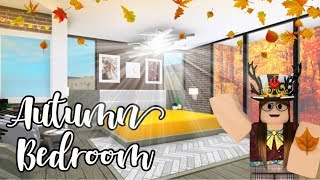 Bloxburg l🍁Autumn Bedroom & Bathroom 31k🍁l Roblox
