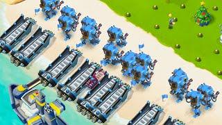 BOOM BEACH 16 MAXED OUT MECHS! screenshot 1