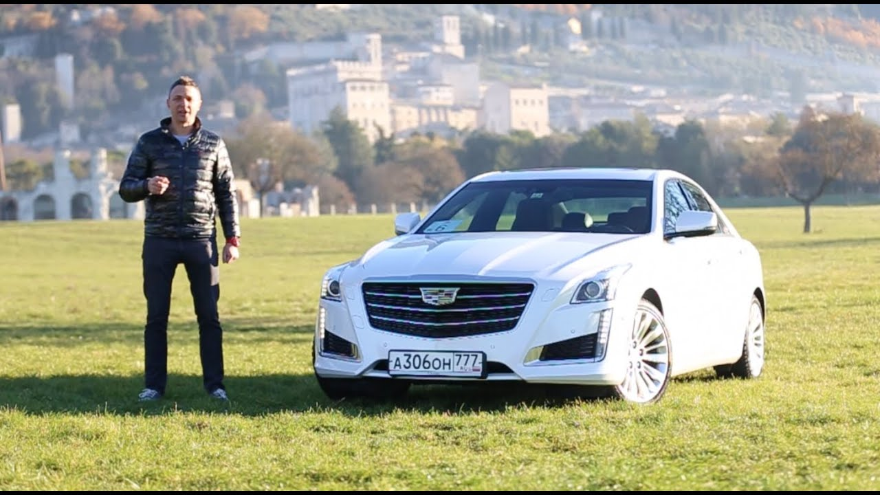 New Cadillac CTS 2016 Review / Кадиллак СТС 2016 Тест-Драйв. Игорь Бурцев