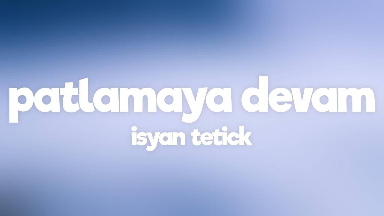 Isyan Tetick - Patlamaya Devam (ARCHEZ Phonk Remix ...