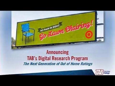 TAB Out of Home Ratings Forum: Measuring Digital Advertising